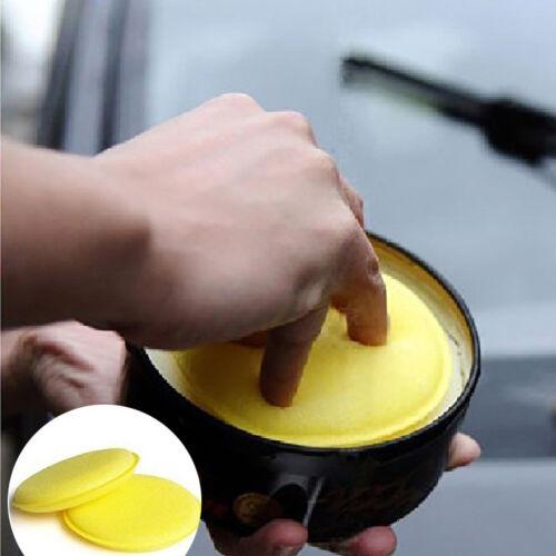 12pcs Car Waxing Polish Foam Sponge Wax Applicator Cleaning Detailing Pads
