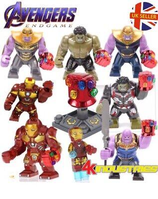Avengers Cull Obsidian Figure Thanos Lego Fit End Game Marvel Gauntlet UK Seller