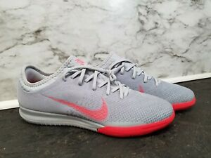 the best attitude e1e16 a3b90 Details about NEW Nike Mercurial VaporX 12 Pro IC Indoor Soccer Cleats Gray  AH7387-060 Mens 8