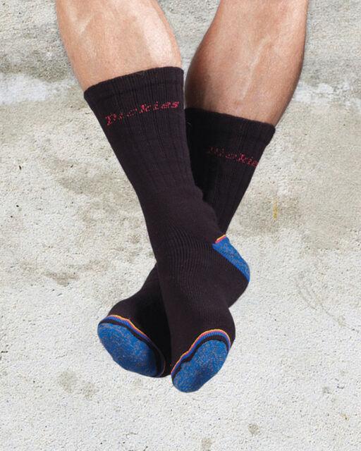 Black,Size Dickies Strong Work sock DCK-00009 6-11