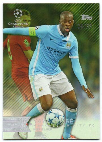 2015-16 Topps UEFA Champions League Showcase Green //99 Pick Any