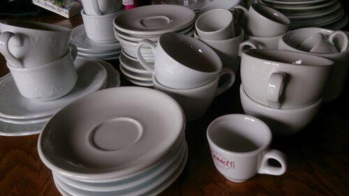 Konvolut Kaffe Tassen Espresso Cappucchino 55 Teile Gastro
