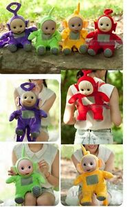 Image is loading Teletubby-Teletubbies-Po-Tinky-Winky-DIPSY-Backpack -schoolbag- 73477e12ae