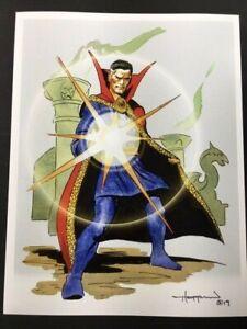 BEHOLD-DOCTOR-STRANGE-Astounding-Marvel-Superhero-SIGNED-Print-by-Mike-Hoffman