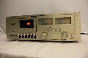 MARANTZ-5010-Tapedeck-HIFI-STEREO-Registratore-a-cassette-SILVER-di-ricambio-e-riparazione