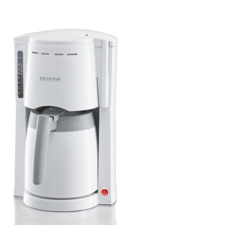 Bianco Severin KA4114 Macchina per Caffè Filtro Con Brocca a vuoto