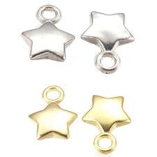 wholesale 50PCS charm plate silver  Acrylic CCB heart Beads pendant 21mm