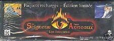 2 BOITE 36 BOOSTERS  LE SEIGNEUR DES ANNEAUX 1 BOITE SORCIERS + 1 BOITE DRAGONS