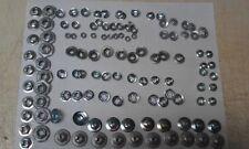1 Qty-Thread Cutting Nut Pushnut Bolt Retainer Assortment 6924