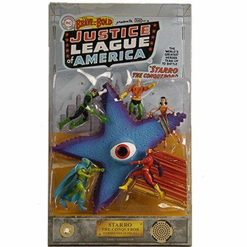 DC Universe Justice League SDCC Comic Con  estrella The Comqueror Exclusive nuovo  prezzi all'ingrosso