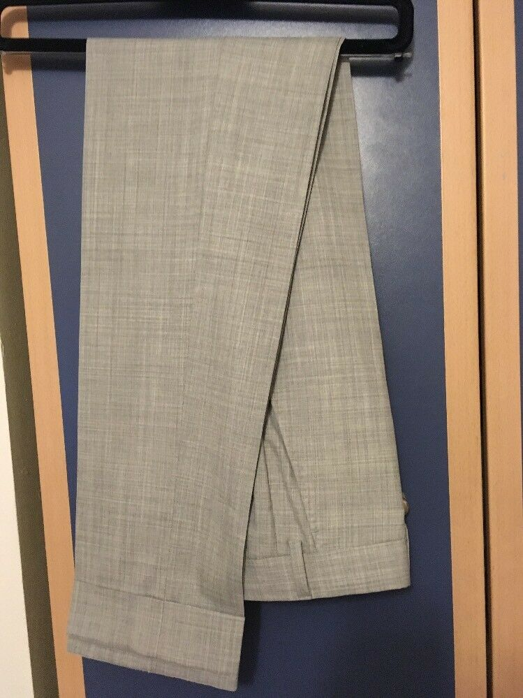 Brand New Suitsupply Light Grey Trousers Soho IT 42