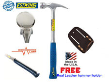 Estwing 22oz Straight Claw Framing Hammer Shock Reduction Handle Free Holster