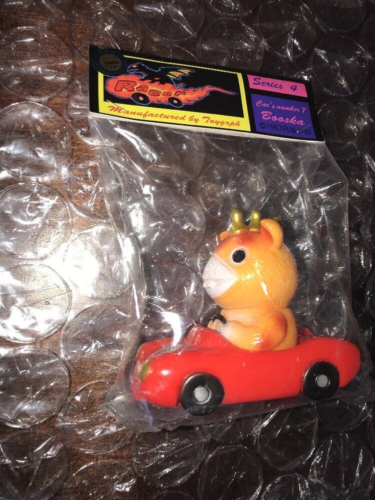 Toygraph Booska Racer Mancha Vinilo Kaiju Racer serie 4 Sellado Menta Guau
