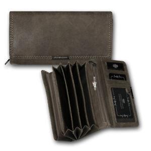 Waitress-Purse-Faux-Leather-Brown-Women-039-s-Wallet-Wallet-OPJ125N-Jennifer-Jones