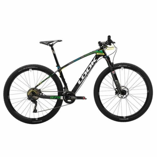 Look 979 Shimano XT 2X11 Complete Carbon fiber 29er Mountain bike Size Large