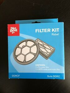 Dirt-Devil-Vacuum-Filter-Kit-DDRCF-Suits-Rebel-DDRC-Hepa-Filter-NEW