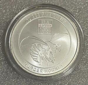 Envela Corp - Murder Hornet - 1oz Fine Silver Round in Guardhouse Capsule