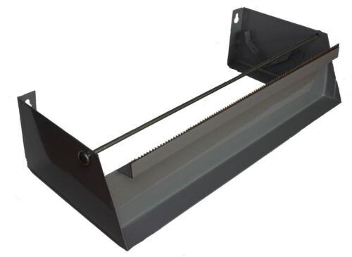 1 Stück Folienabroller für Frischhaltefolie und Alufolie Metallspender 30 cm