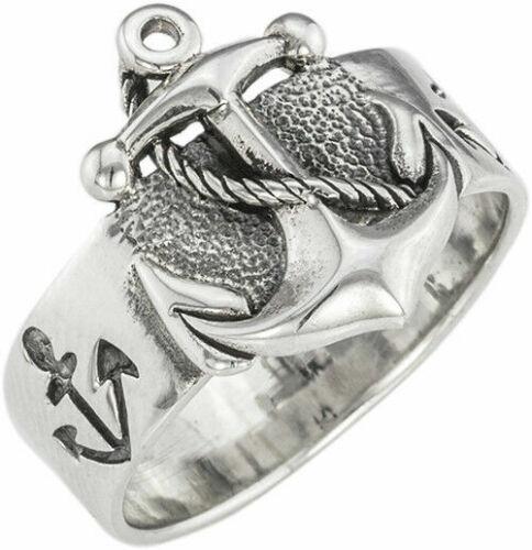 Video Seefahrer Herren Ring Sterlingsilber 925 Anker Motiv Ring Anchor