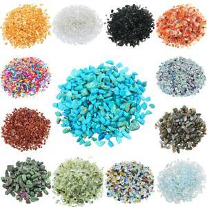 1lb-Crushed-Gemstone-Chips-Stone-Undrilled-Tumbled-Crystal-Quartz-Decor-DIY