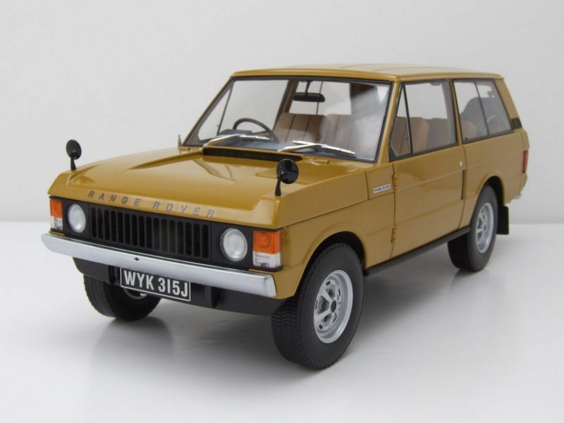 Land Rover Range Rover RHD 1970 Yellow, Model Car 1 18   Almost Real