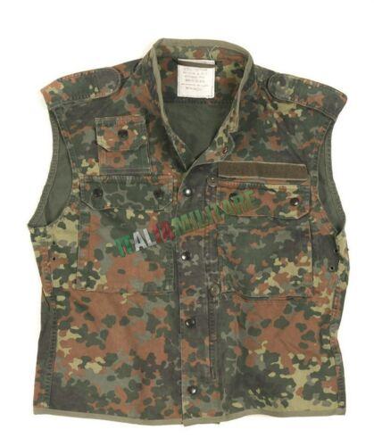 ORIGINALE Gilet Mimetico FLECKTARN Uniforme Militare Tedesca