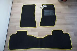 Full-Set-Car-Floor-Mats-w-Yellow-Binding-for-Holden-Commodore-VT-VX-VY-VZ-Sedan