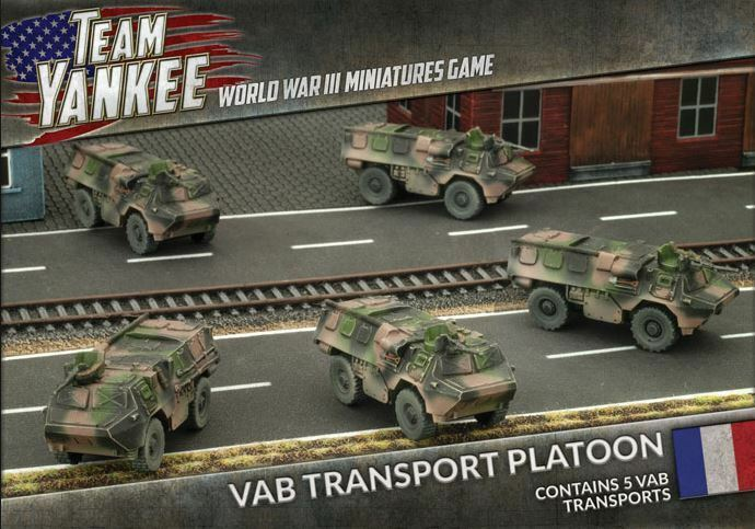 Team Yankee TFBX03 - WWIII Miniatures Game - VAB Transport Platoon