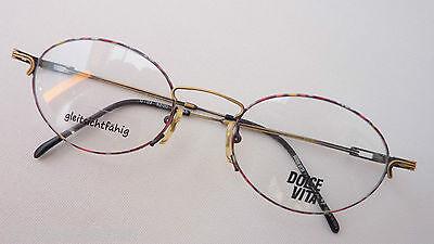 Ragionevole Occhiali Facilmente In Filigrana Metallo Versione Bordo Normale Multicolor Ovale Circa Misura L-mostra Il Titolo Originale