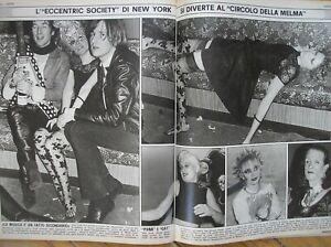 THE MUUD CLUB NEW YORK GAY PUNK TRASGRESSIONE 1980 RIVISTA MAGAZINE ITALY