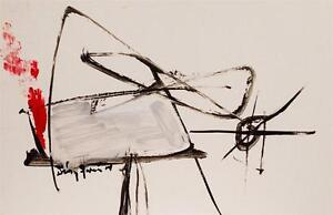 Sheila-DIAZ-Garcia-79C-CUBAN-FINE-ART-8-5-034-x13-034-Original-Acrylic-Painting-Cuba