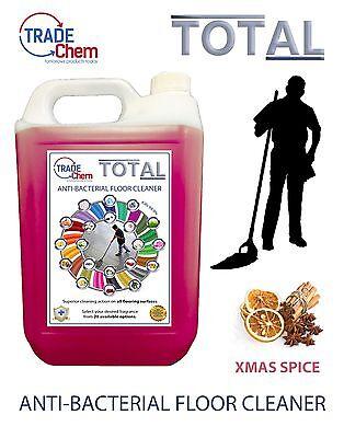 Boden Reiniger 5l Total Antibakteriell - Xmas Spice Duftend - Trade Chem Bequem Zu Kochen