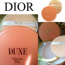 100% Auténtico enorme Raro Dior Duna Vintage Perfumado Talco Polvo Soplo De Polvo &