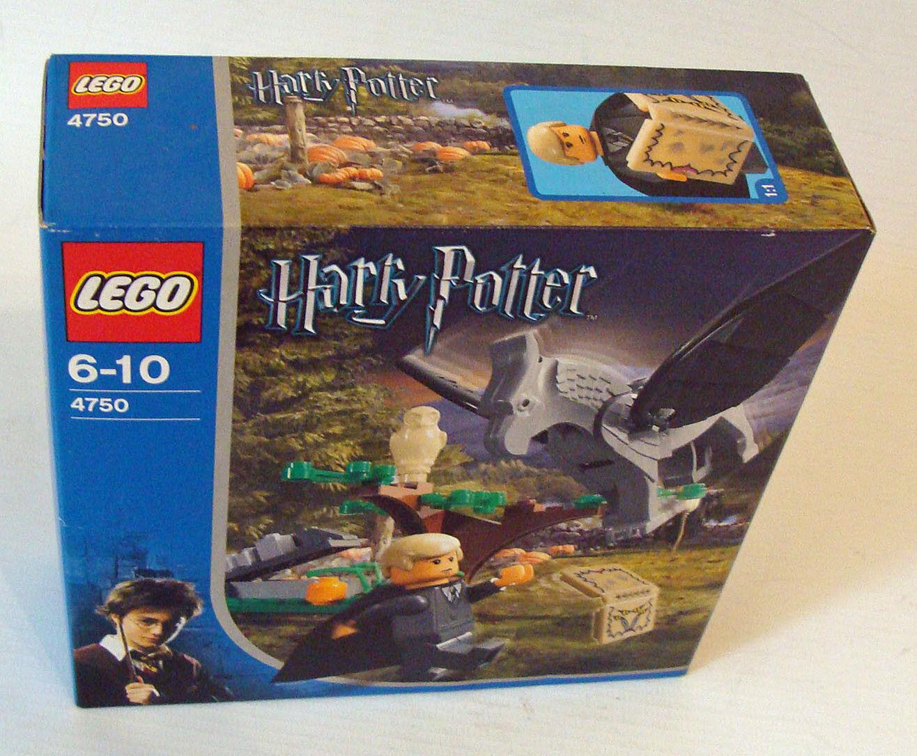 Lego® Harry Potter 4750 - Draco und der Hippogreif  36 Teile 6-10 Jahren - Neu