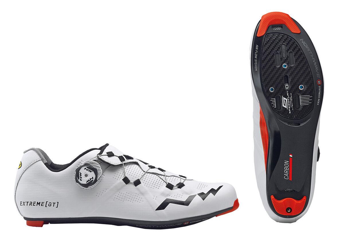 Northwave Extreme GT Rennrad Fahrrad Schuhe Weiß Schwarz2018