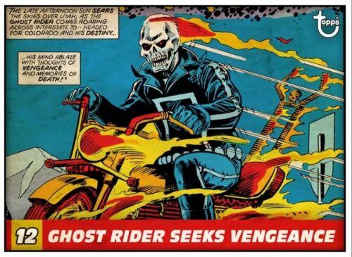 Vintage Panels GHOST RIDER SEEKS VENGEANCE *Digital Topps Marvel Collect