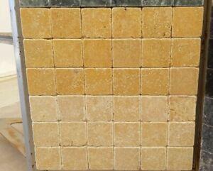 Piastrelle mosaico in pietra marmo giallo reale per