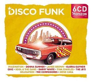 Horizon-Radio-discoteca-Imagination-Donna-Summer-Barry-White-CHIC-U-a-6-CD-NUOVO