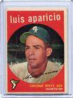 1959 Topps Baseball Card of Luis Aparicio Chicago White Sox EX Mint # 310