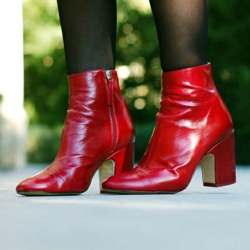 conveniente ZARA New New New rosso Burgundy High Heel Leather Ankle stivali Toe Cap 6126 101 6.5 7.5 37  acquistare ora