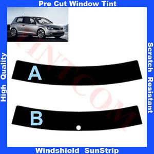 Sonnenblendstreifen-VW-Golf-VI-3-Tueren-2008-2011-5-50