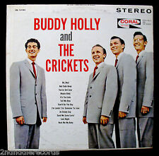 BUDDY HOLLY And THE CRICKETS-Near Mint LP-CORAL #CRL 757405-Maroon Label-Stereo