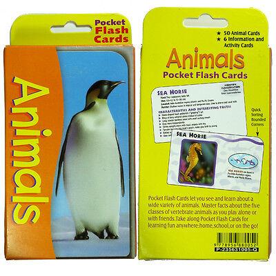 Educational Flash Cards - Animals