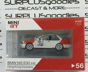 TSM-Model-Mini-GT-2020-Hong-Kong-Exclusive-1991-BMW-M3-E30-Deutsche-Tourenwagen