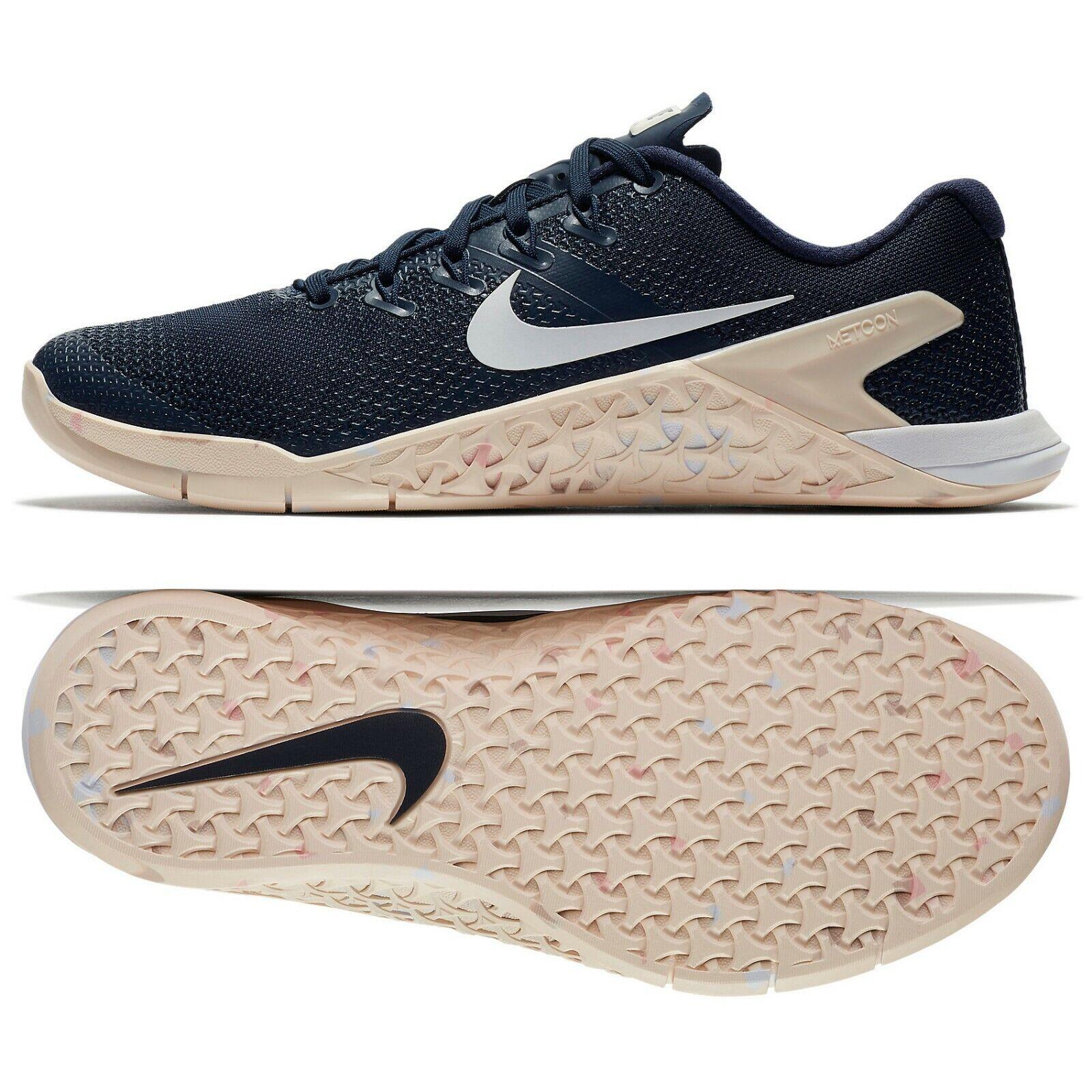 Nike WMNS Metcon 4 924593-402 Obsidian White Pink Women's Training shoes