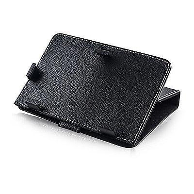 """Borsa Custodia Book Case Pu Universale Per Tablet 10"""" 10 Pollici Nera Prestazioni Superiori"""