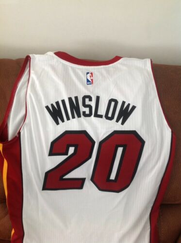 bdf7a7175 3 of 8 Adidas justise winslow  20 miami heat nba jersey NWT size 3XL Lenght  +2 mens