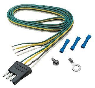 "New 4-way Flat Connectors seachoice 50-57901 Trailer Side Lead 48/"""