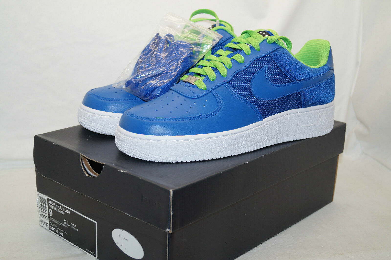 Nike Air Force sp af1 low premium sp Force huarache Limited azul Gr 42,5 45dc4c