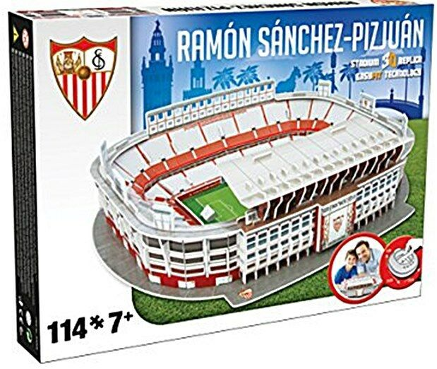 Sevilla FC Ramon Sanchez Pizjuan Stadium 3D jigsaw puzzle  (kog)